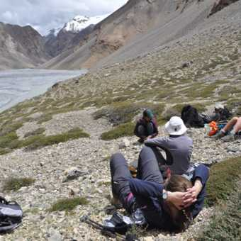 relaxing near Kyangdom