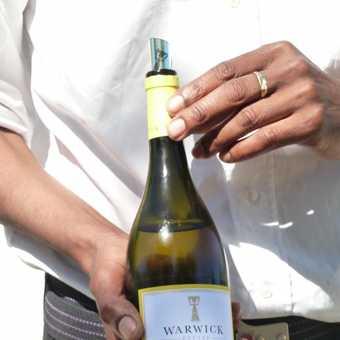More wine tasting at Warwick Estate!