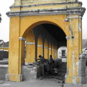 Washing day - La Antigua, Guatemala