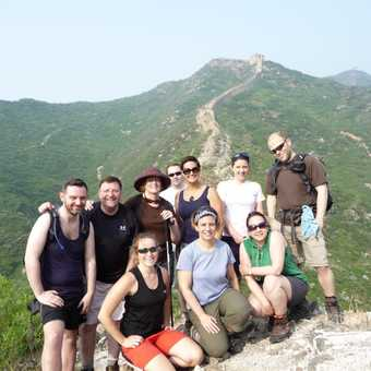 Our group on the Great Wall