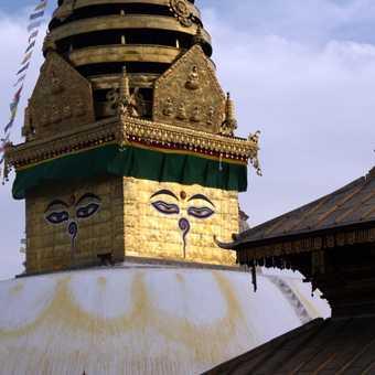 """""""Monkey Temple"""" in Kathmandu"""