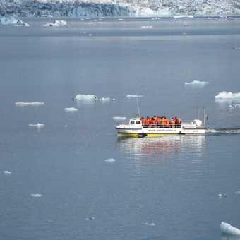 Jokulsarlon glacial lagoon amphibious boat trip