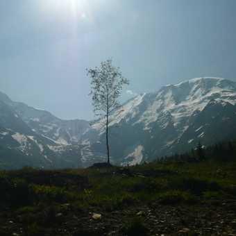Heading back to the Chamonix Valley
