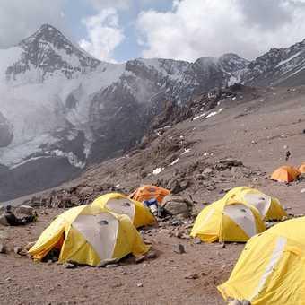 Camp one , nice view
