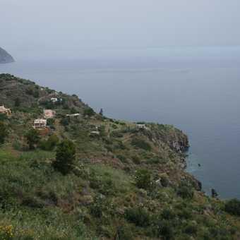 Views of Lipari's coast