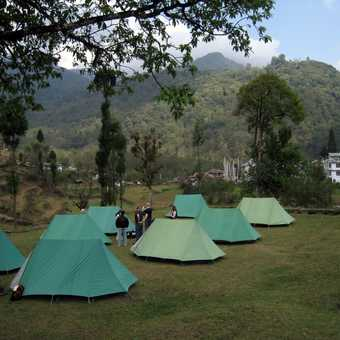 Camp at Yoksum