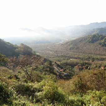Orosi Valley - from Sanchiri Lodge