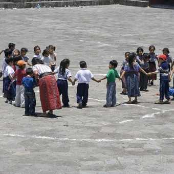 Schoolkids in Santiago