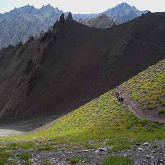 Descent from Stok La