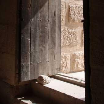 Detail of Roman theater, Jerash