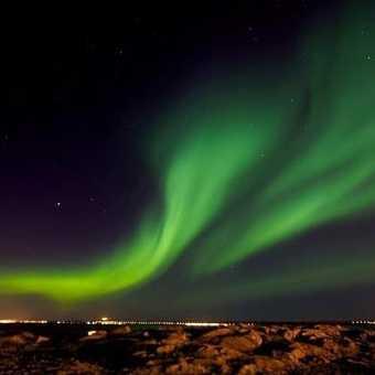 Northern Lights over Keflavik, 17/3/13