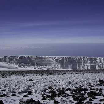 Glacier at the sumit