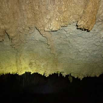 Colours in cave