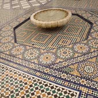 Musee de Marrakech Mosaic