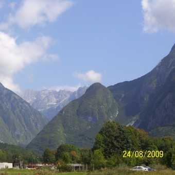 First beautiful day, Bovec