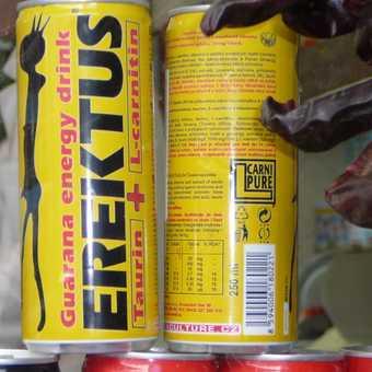 Energising soft drink!