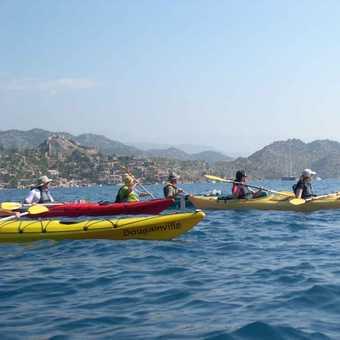 More kayaking