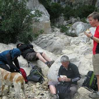 Lunch break in Gorruopu Gorge
