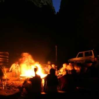 Camping with the Bedouin in Wadi Rum
