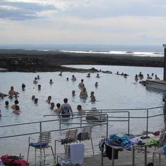 Bubbling sulphur pool