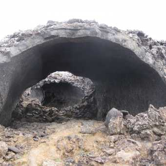 Collapsed lava tunnels