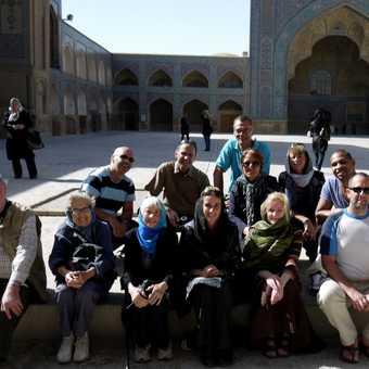 The Persia Posse . . . Esfahan.
