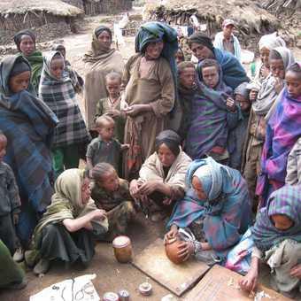 Villagers at Arkwasiye