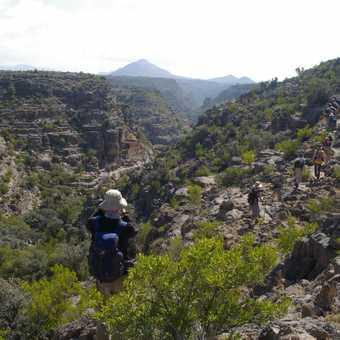 Day 5 trek - abandoned village of Bani Habib