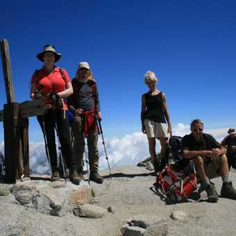 The summit of Monte Incudine