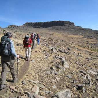Approaching the summit of Ras Dashen
