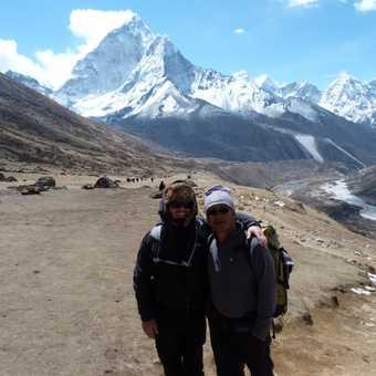 Lukpa Lama and myself