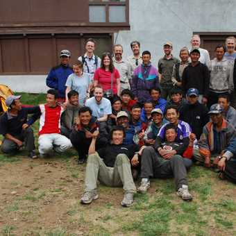 all the team at Lukla