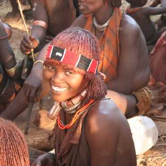 Smiling Hamer girl