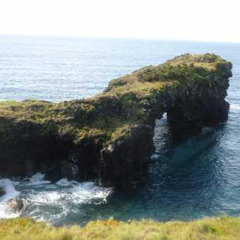Faial's dramatic coastline