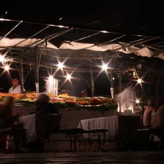 Marrakesh by night - Jamaa el Fna square