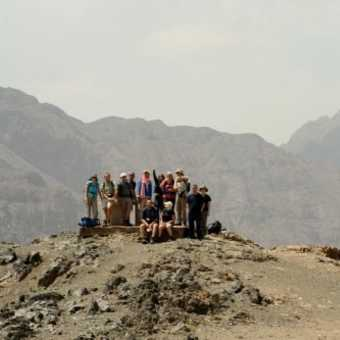 On top of Jebel Oukaimeden