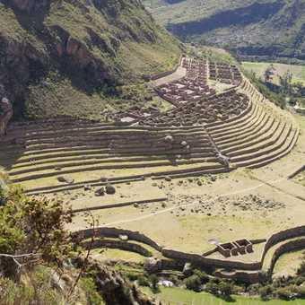 ruins at Llactapata