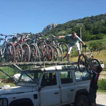 The best bike roof rack in the world!