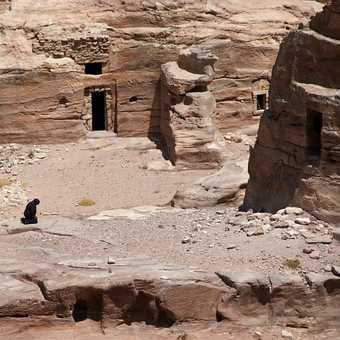 Afternoon prayers - Petra