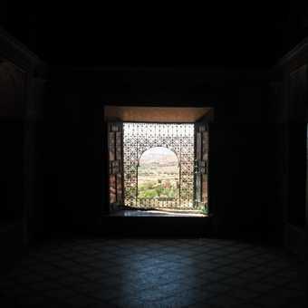 Inside the Kasbah at Telounet