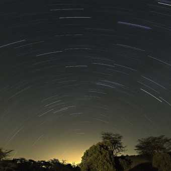 More star trails