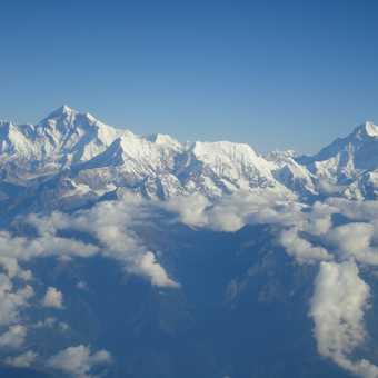 MT EVEREST (8848M) & MT MANASLU (8156) - FLIGHT BACK FROM PARO TO KATHMANDU