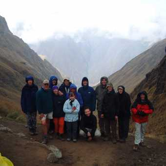 Inca Trail, Dead Woman Pass, on the Top