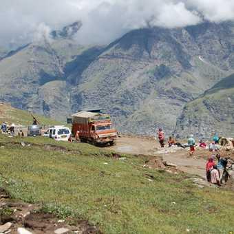 Crossing the Rhotang Pass