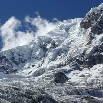 Annapurna south & glacier