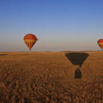 Balooning over the Masai