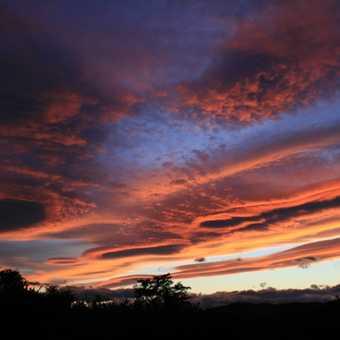 Sunset at Refugio, Torres del Paine