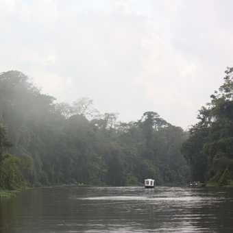 On the water, Tortuguero