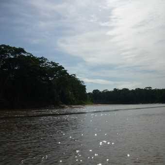 Boat trip to Tambopata Lodge