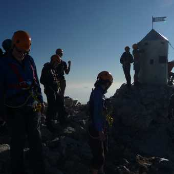 Day 5 - Success! The small hut at the top of Triglav (2864 m)